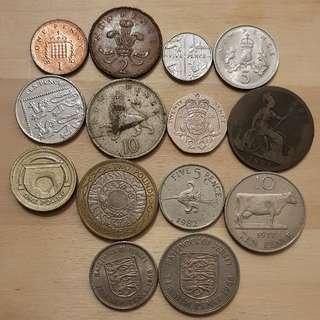 Mixed European Coin Lot