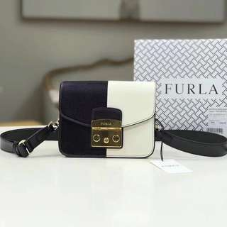 🔥New In🔥Furla Metropolis Black & White
