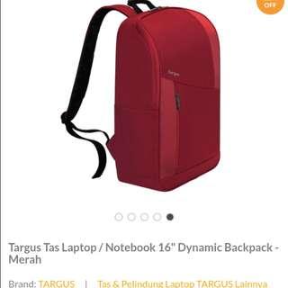 Targus Tas Laptop/Notebook 16 (Tas dan Pelindung Laptop)
