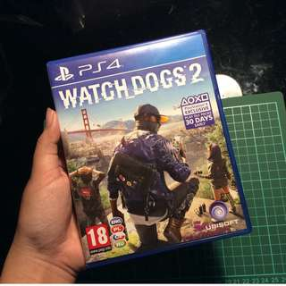 BD Kaset Game Watch Dogs 2 / Watchdogs 2 (Free Ongkir Kl Ga Nego)