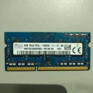 4GB RAM DDR3