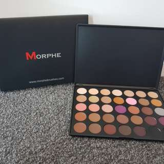 35N by Morphe Eyeshadow Palette