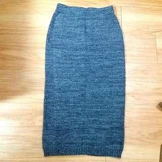 Gollehaug毛線製長裙
