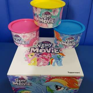 Tupperware My Little Pony One Touch Canister