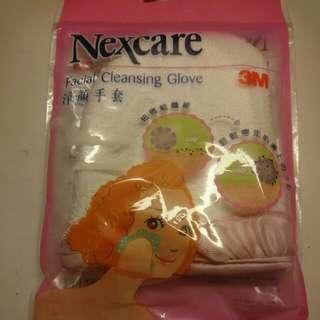 37折 Nexcare 3m facial cleansing glove 經驗手套