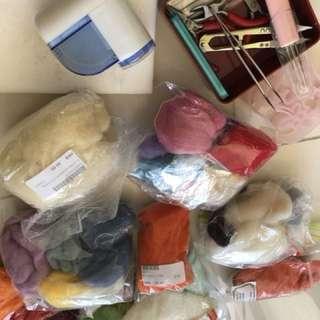 羊毛氈材料工具