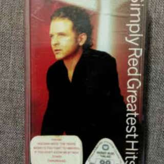 arthcs SIMPLY RED Greatest Hits Cassette Tape (Stars, Holding Back The Years, If You Don't Know Me By Now etc)