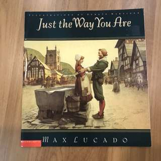 Scholastic Just the Way You Are by Max Lucado
