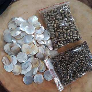 Capiz Beads for Crafting