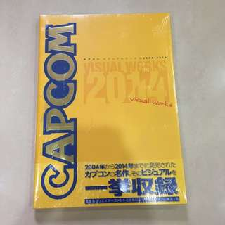 Mint Sealed Capcom Visual Works 2004 to 2014