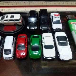 Asstd. Miniature diecast cars from japan