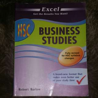 EXCEL HSC BUSINESS STUDIES
