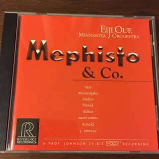 Audiophile mephisto reference recordings cd