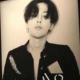 G Dragon 權志龍 chanel poster