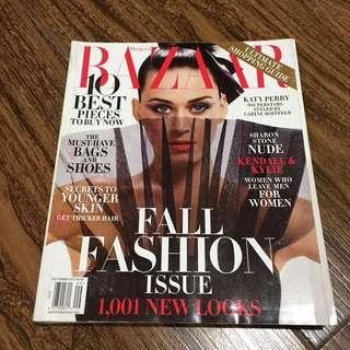 KATY PERRY Bazaar Magazine