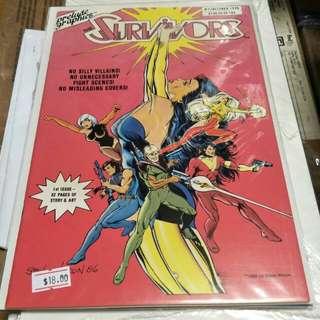 Spectru Burnside prelude graphics Comics not marvel not DC not dark horse comics
