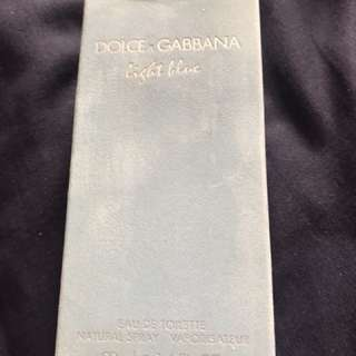 Dolce & Gabanna light blue 50ml perfume brand new