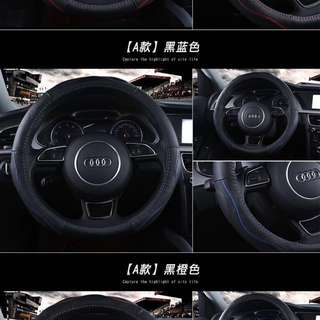 Real Cow Leather Car Steering Wheel Cover
