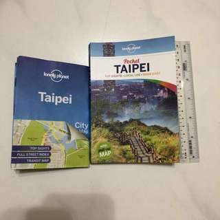 Lonely Planet Pocket Taipei book