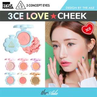 3CE LOVE COLLECTION Blushes