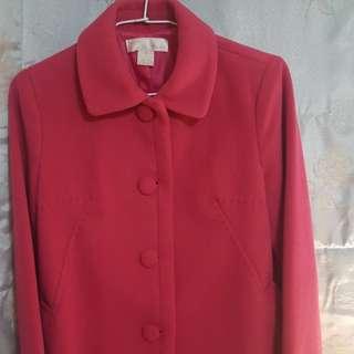 🚚 韓版桃紅外套