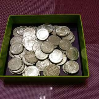 中国旧硬币