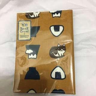 日本製貓咪布面書套(日文文庫大小)