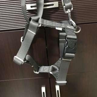 AIR-竹炭輕量-雙扣H型胸背帶(含拉繩)ML