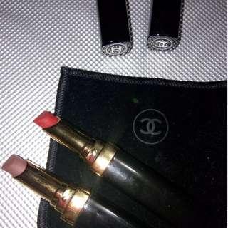 Authentic chanel lipstick duo