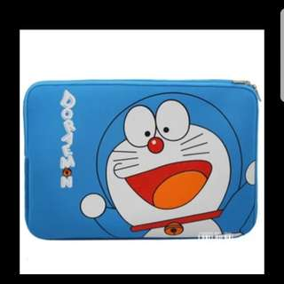 In stock doraemon laptop sleeve for 15 inches computer