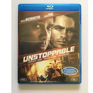 Unstoppable Blu Ray