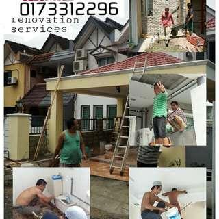 Renevation,Plumbing dan tukang bumbung