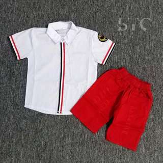 [READY STOCK] Boys' Shirt and Pants