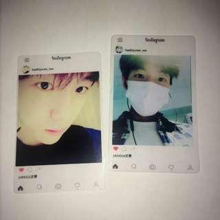 Baekhyun card (EXO)