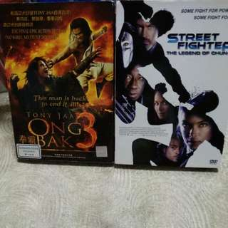 Dvd, action 2in1, only for $5!