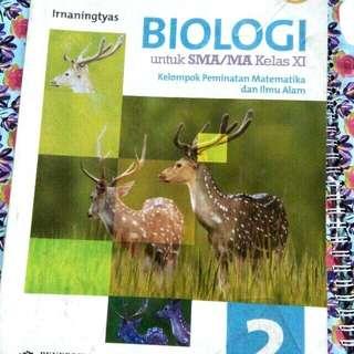 Buku biologi SMA kelas 2 erlangga