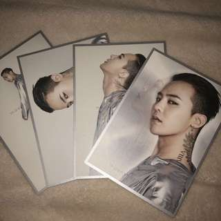G Dragon Moonshot Poster (from Korea)