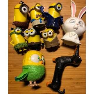 🚚 小小兵 Minions 神偷奶爸 寵物當家 公仔 模型 玩具 玩偶 角色扮演