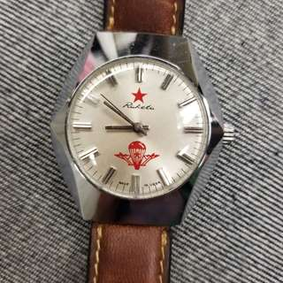 USSR Wind Watch 上鍊軍錶