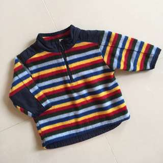 Fleece jacket 6-12 months