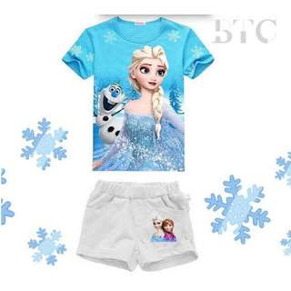 [READY STOCK] Elsa Tshirt & Pants
