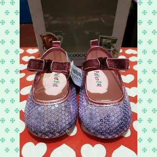 Sequin toddler shoes