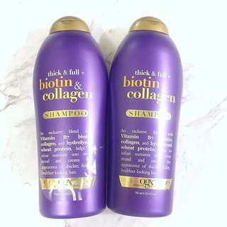 OGX Biotin & Collagen Shampoo Special Edition 750ml