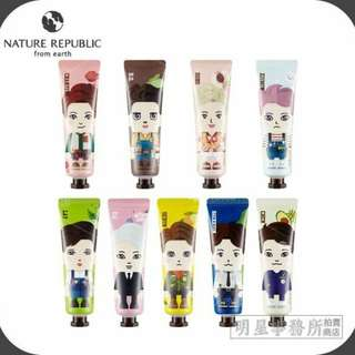 EXO邊伯賢NatureRepublic Hand Cream