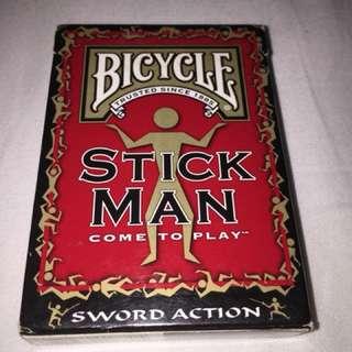 Bicycle 'Stick Man' Playing Cards