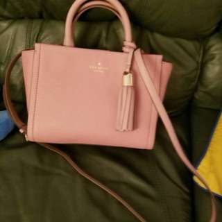 Kate spade ♠️ 粉紅色袋