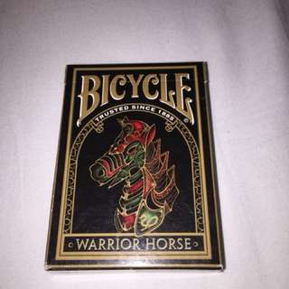 Bicycle 'Warrior Horse' Playing Cards
