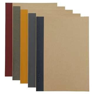 b5 muji notebooks