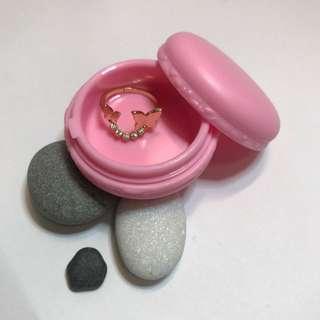 馬卡龍 糖果 首飾 戒指 耳環 收納 旅行必備 扭蓋