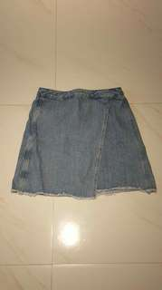 Anne Taylor Denim Skirt